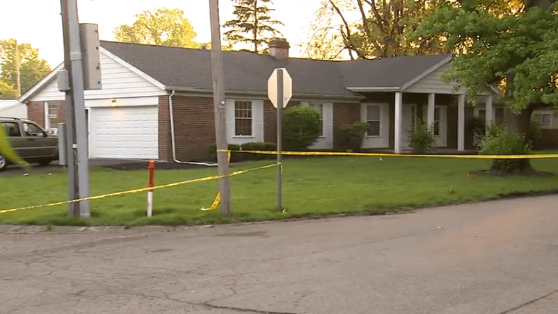 The house in the 2400 block of W. Euclid Avenue, in Muncie, Indiana | Photo: WTHR