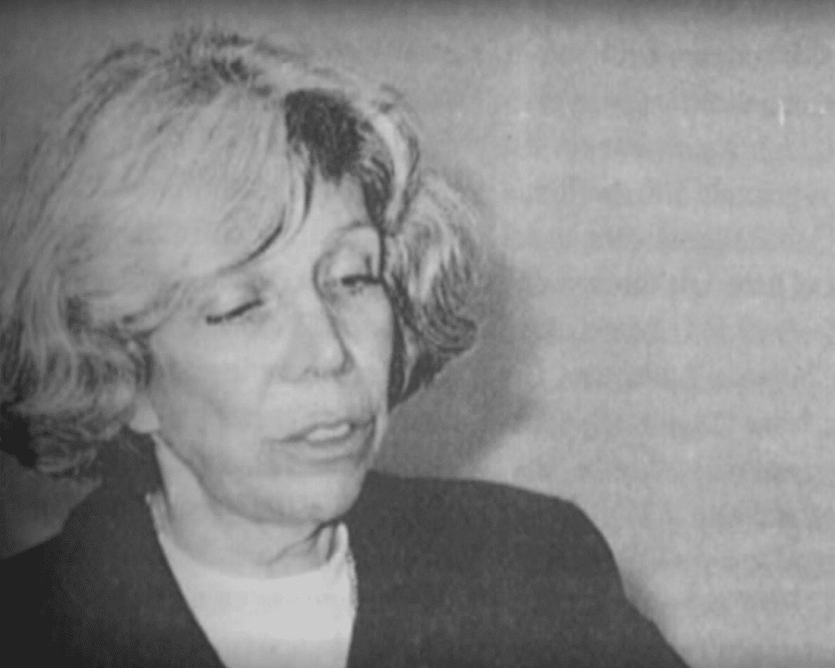 Nancy Cárdenas, dramaturga, autora y primera mexicana en declararse gay en la TV. | Imagen: YouTube/Instituto El Otro Lado