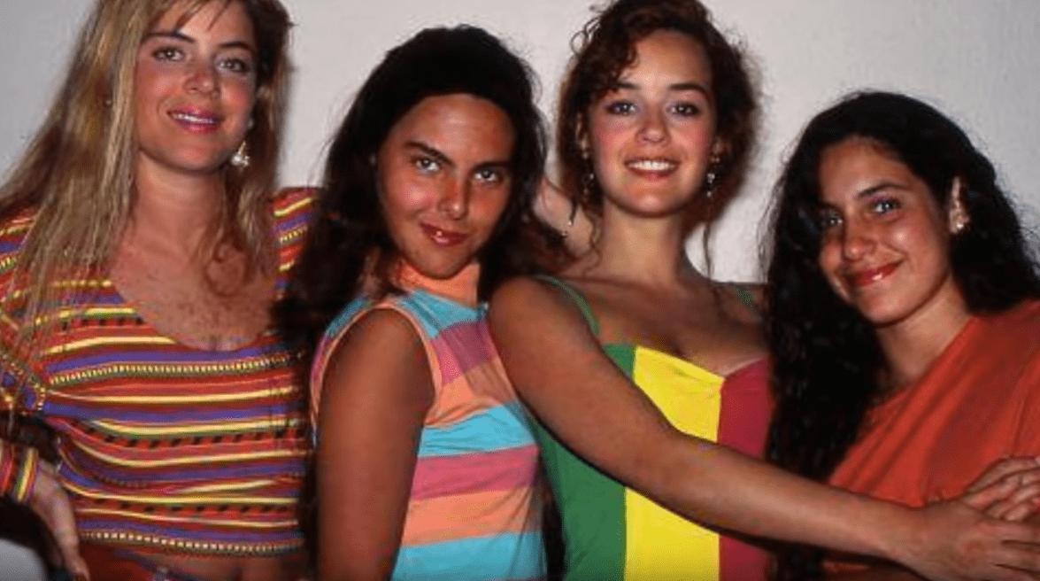 Emma Laura, Kate del Castillo, Cecilia Tijerina y Tiaré Scanda. | Imagen: YouTube/ALEJANDRO ZUNIGA RECORDANDO