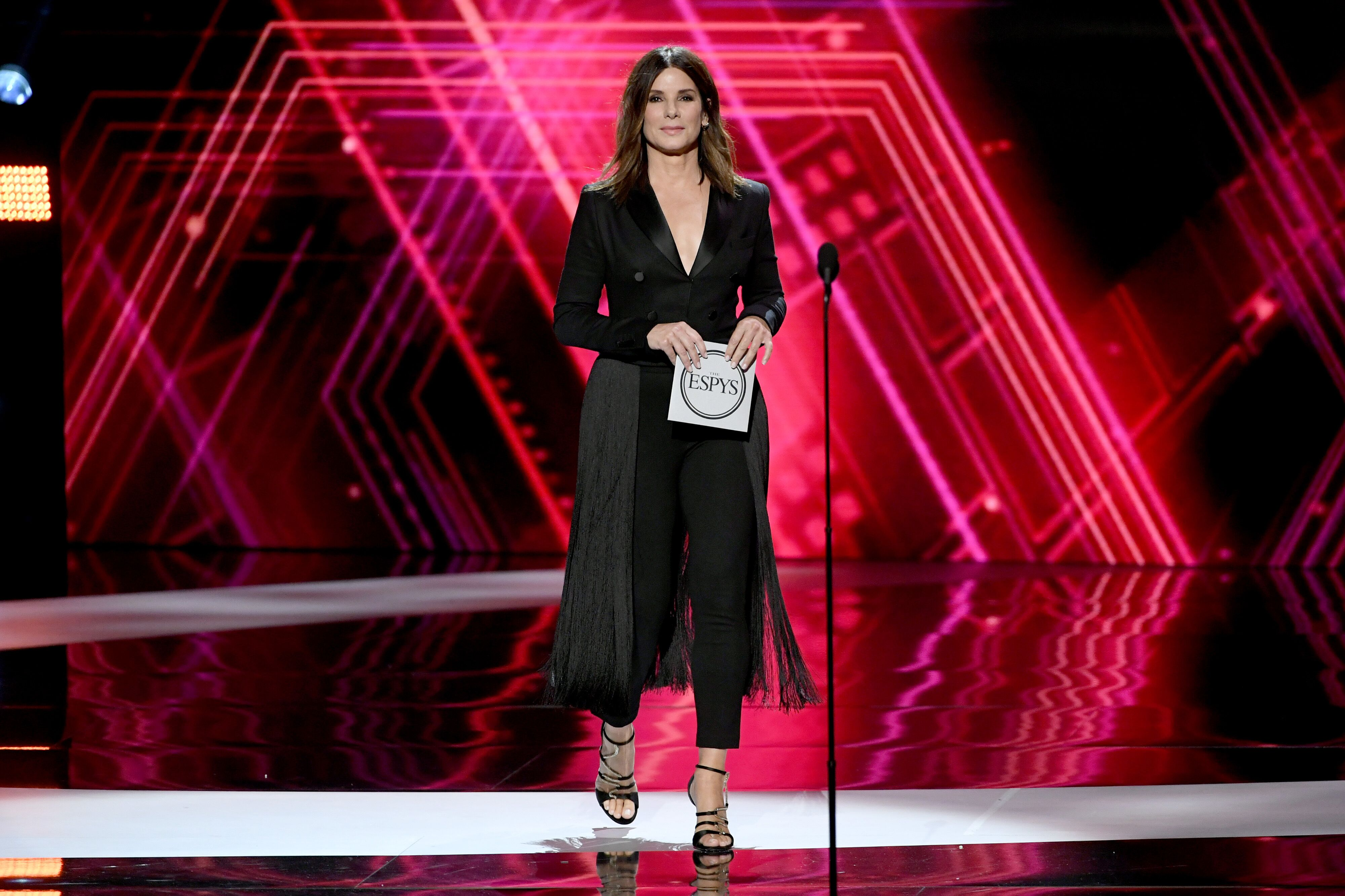 Sandra Bullock at the ESPY Awards. | Source: Getty Images