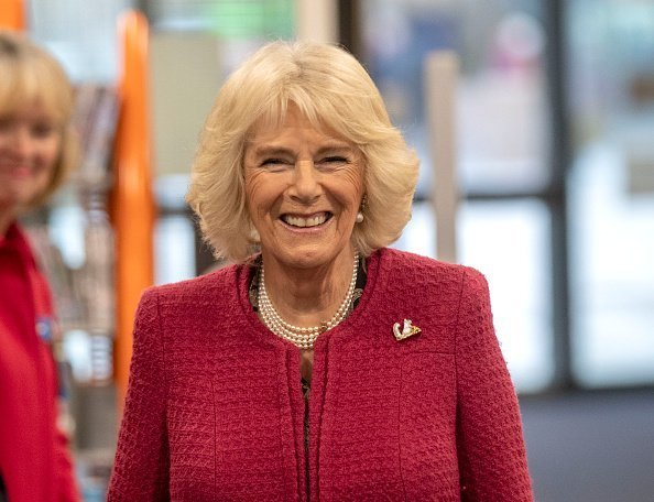 Camilla, Duchess of Cornwall, on January 24, 2019 in Swindon, England | Photo: Getty Images