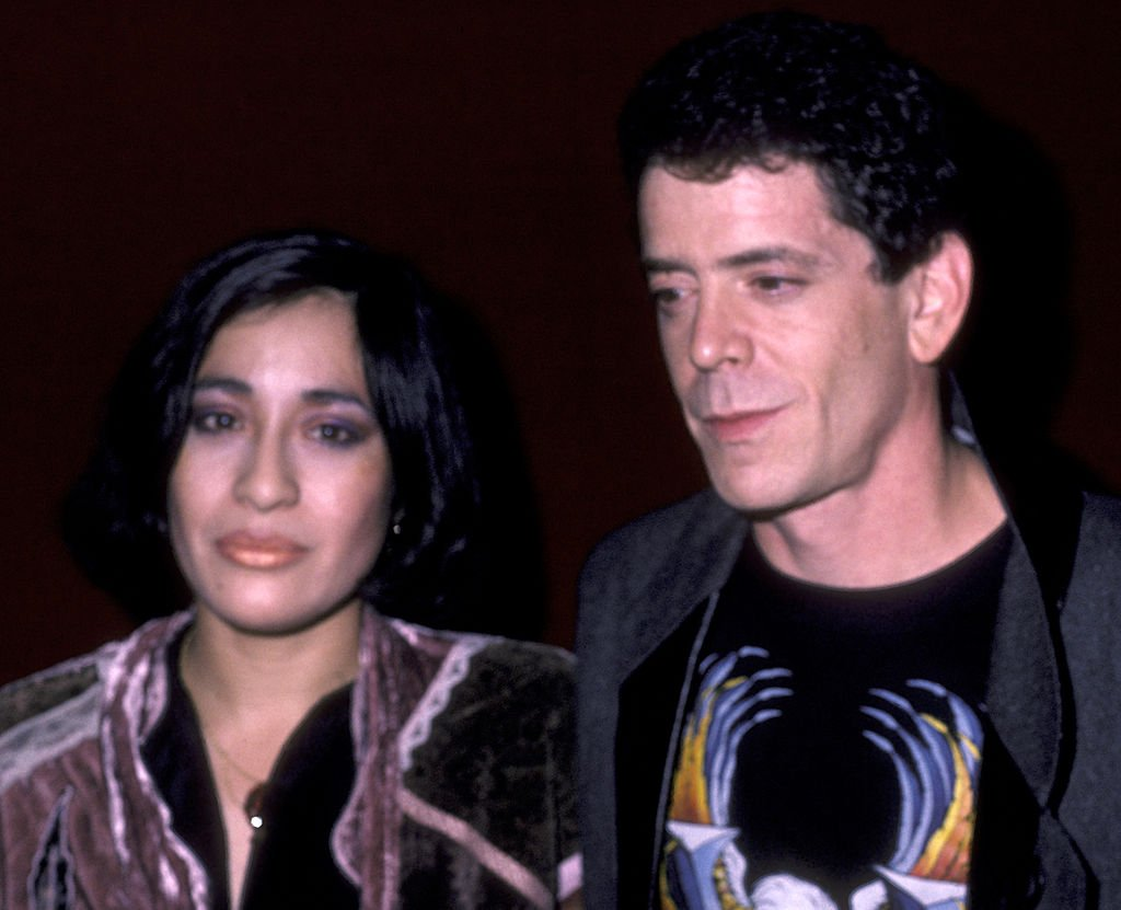 Lou Reed and wife Sylvia Morales attend Lou Reed Concert Party on October 17, 1984 | Photo: Getty Images