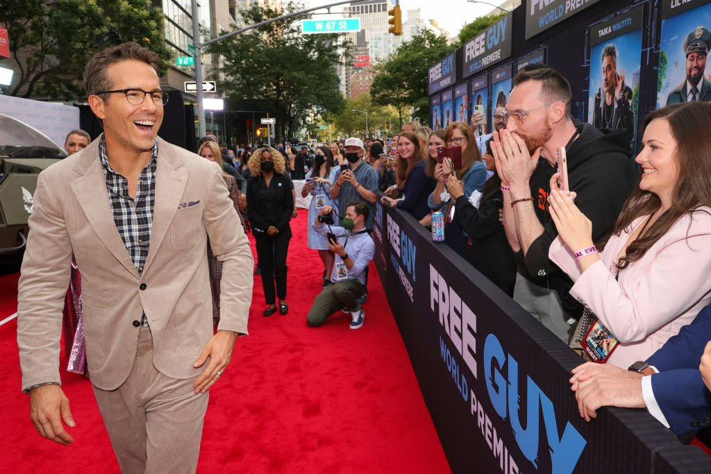 """Ryan Reynolds attends the world premiere of 20th Century Studios' """"Free Guy,"""" August 2021   Source: Getty Images"""