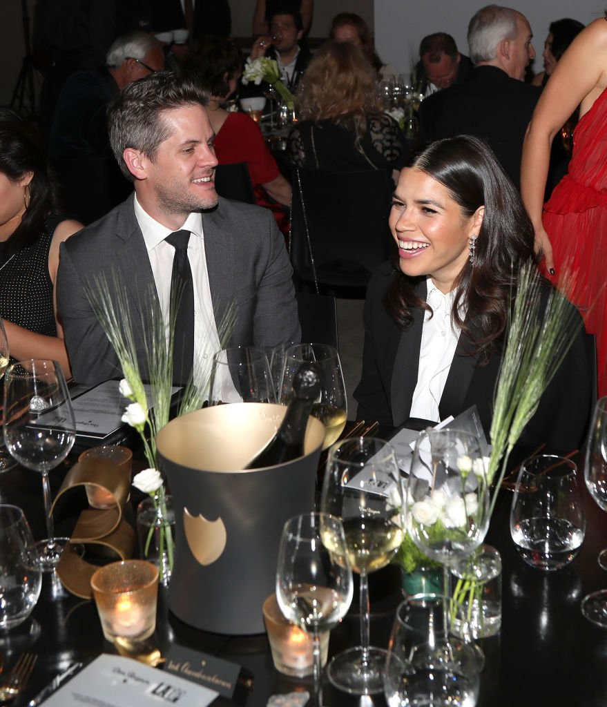 Ryan Piers Williams and America Ferrera attend the LA Dance Project Gala. | Source: Getty Images