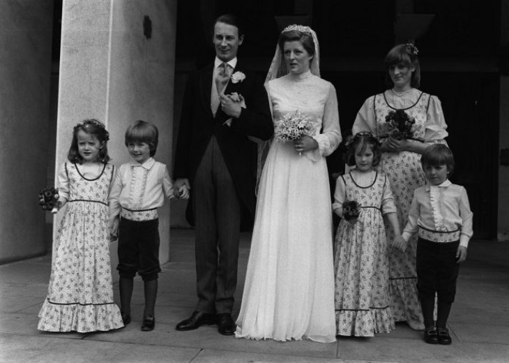 Lady Jane on her wedding day with Princess Diana. | Source: Getty Images
