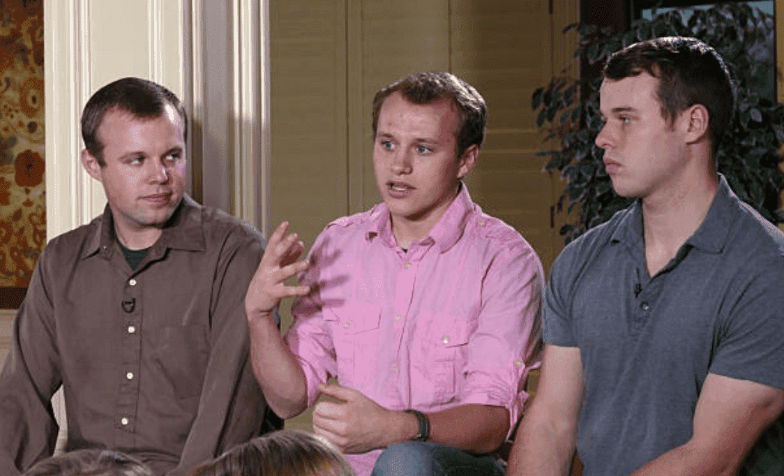 """Good Morning America"" host, Paula Faris sits down exclusively with John, Joseph and Josiah Duggar for an interview from their Arkansas home, on March 14 (7-9am, ET) 