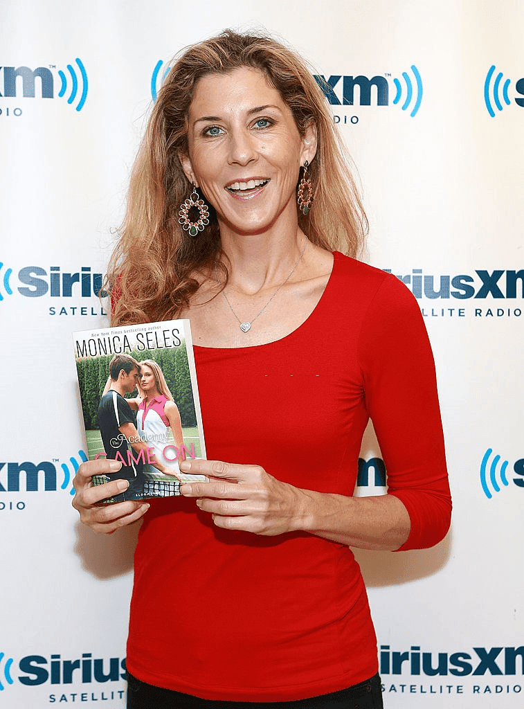 New York - 04 juin : Monica Seles au SiriusXM Studios le 4 juin 2013 à New York. | Photo : Getty Images
