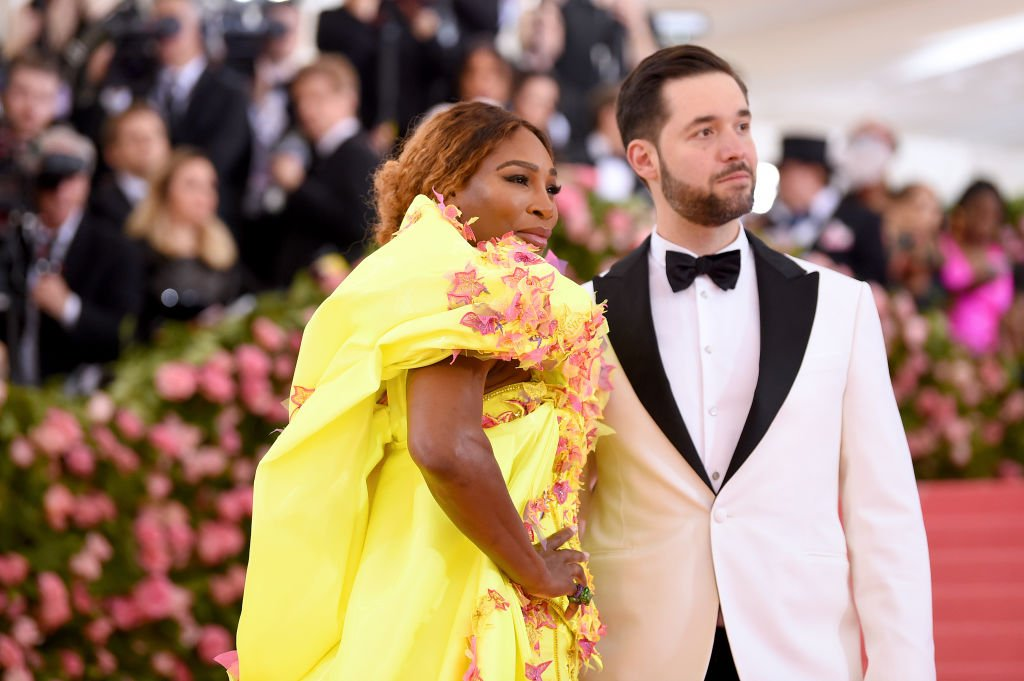 Serena Williams and Alexis Ohanian at The 2019 Met Gala Celebrating Camp: Notes on Fashion at Metropolitan Museum of Art on May 06, 2019 | Photo: Getty Images