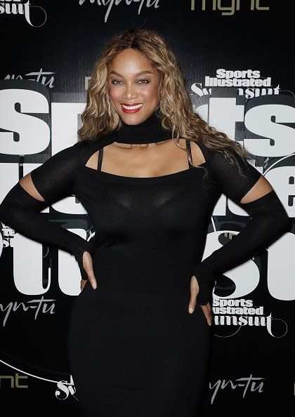 Tyra Banks at the Sports Illustrated Swimsuit Celebrates 2019 Issue Launch on May 11, 2019 | Photo: Getty Images