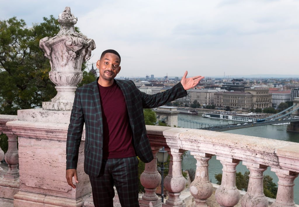 "Will Smith attends the Paramount Pictures, Skydance and Jerry Bruckheimer Films ""Gemini Man"" Budapest red carpet at Buda Castle Savoy Terrace 