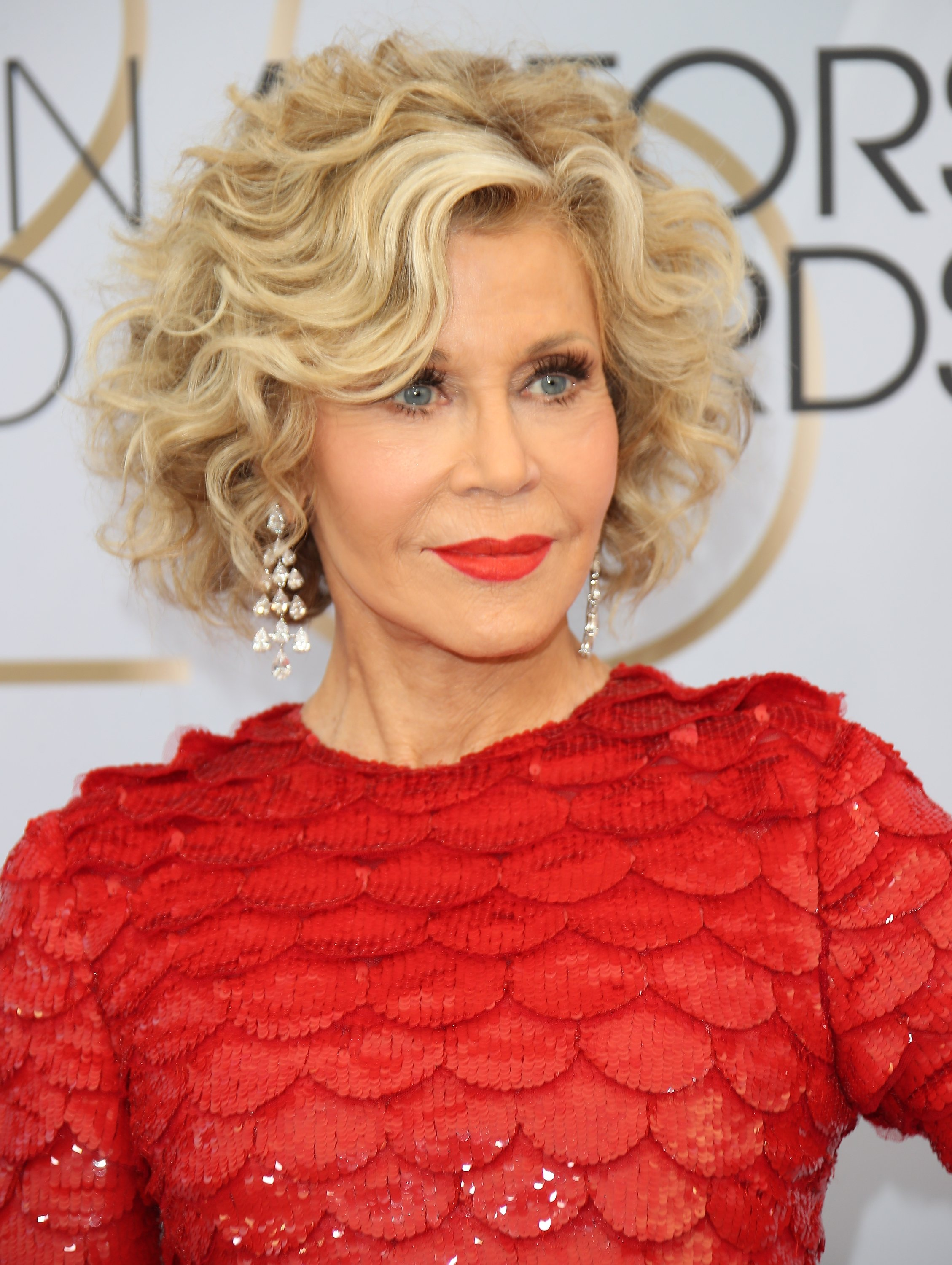 Jane Fonda attends the 25th Annual Screen Actors Guild Awards at The Shrine Auditorium on January 27, 2019 in Los Angeles, California   Photo: Getty Images