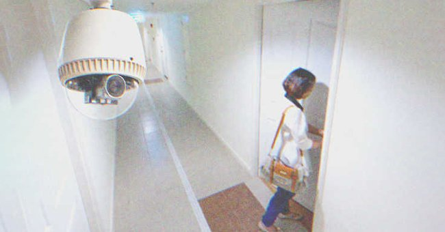 Olivia was caught on camera escaping from the facility. | Photo: Shutterstock