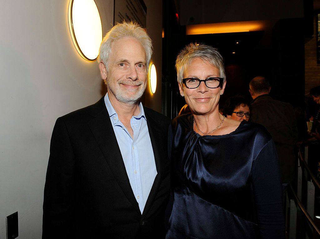 """Christopher Guest and Jamie Lee Curtis at""""Let Me Down Easy"""" with Anna Deavere Smith at The Broad Stage on July 22, 2011, in Santa Monica, California   Photo:Amy Graves/WireImage/Getty Images"""