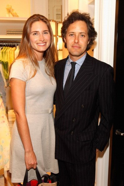 "Lauren Bush and David Lauren attend the Ralph Lauren celebration for the publication of ""The Hamptons: Food, Family and History"" by Ricky Lauren at the Ralph Lauren Women's Boutique on May 22, 2012, in New York City. 