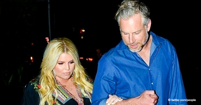 Jessica Simpson's First Date Night Out with Husband After Giving Birth to Daughter Birdie