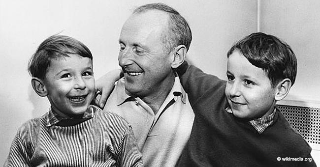 Bourvil, père de deux fils : son aîné, Dominique, est devenu un homme politique connu