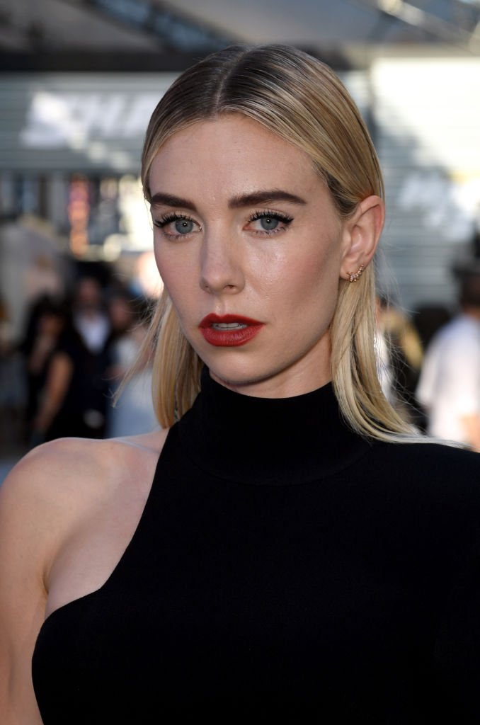 "Vanessa Kirby arrives at the premiere of Universal Pictures' ""Fast & Furious Presents: Hobbs & Shaw"" at Dolby Theatre 