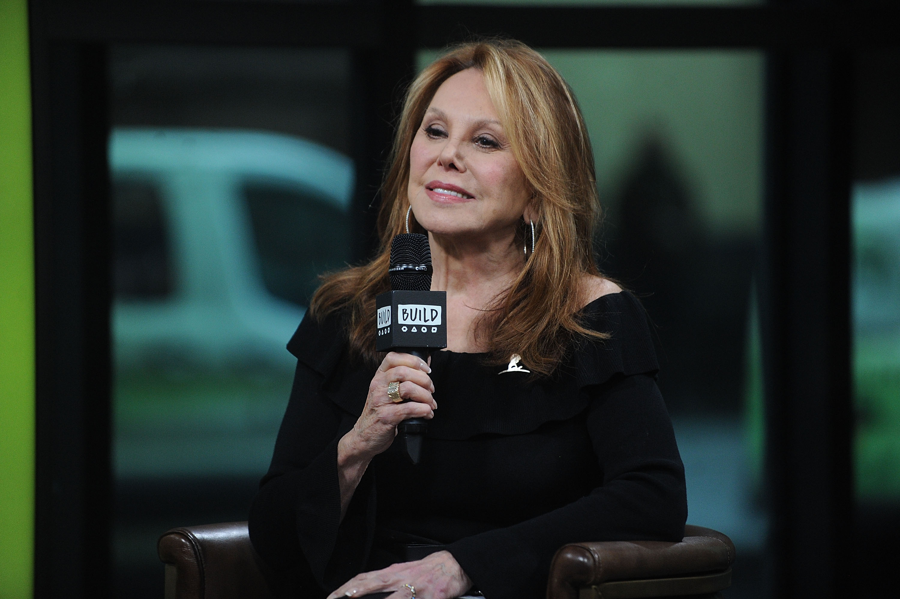 Marlo Thomas attends Build presents Jeannette Ferran Astorga, Laura Bishop, Alex Bellos and Marlo Thomas Discussing St. Jude at Build Studio on December 12, 2017 in New York City | Photo:GettyImages