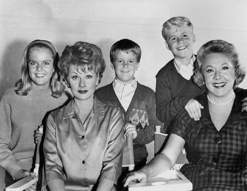 Candy Moore, Lucille Ball, Jimmy Garrett, Ralph Hart, and Vivian Vance, circa 1960s | Photo: Wikimedia Commons
