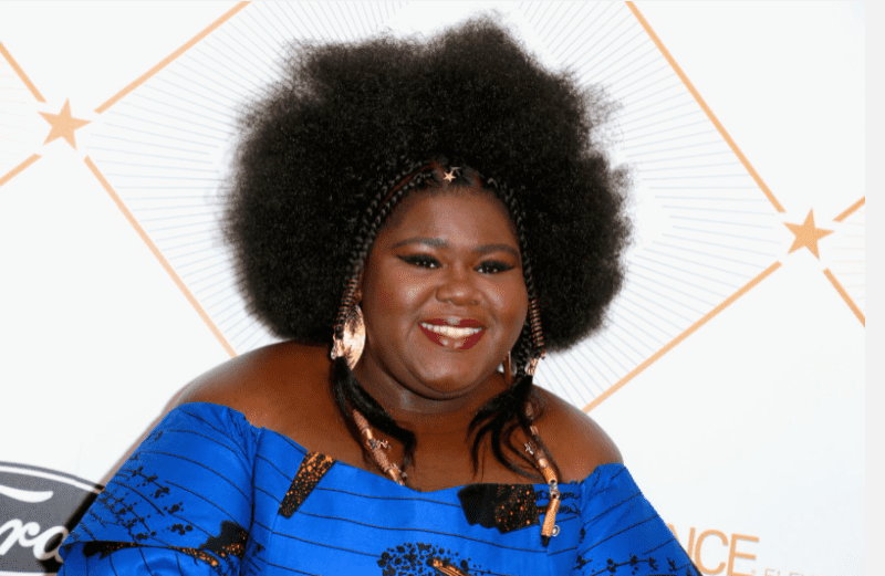 Gabourey Sidibe at the 2018 Essence Black Women In Hollywood Oscars Luncheon on March 1, 2018 | Photo: Getty Images
