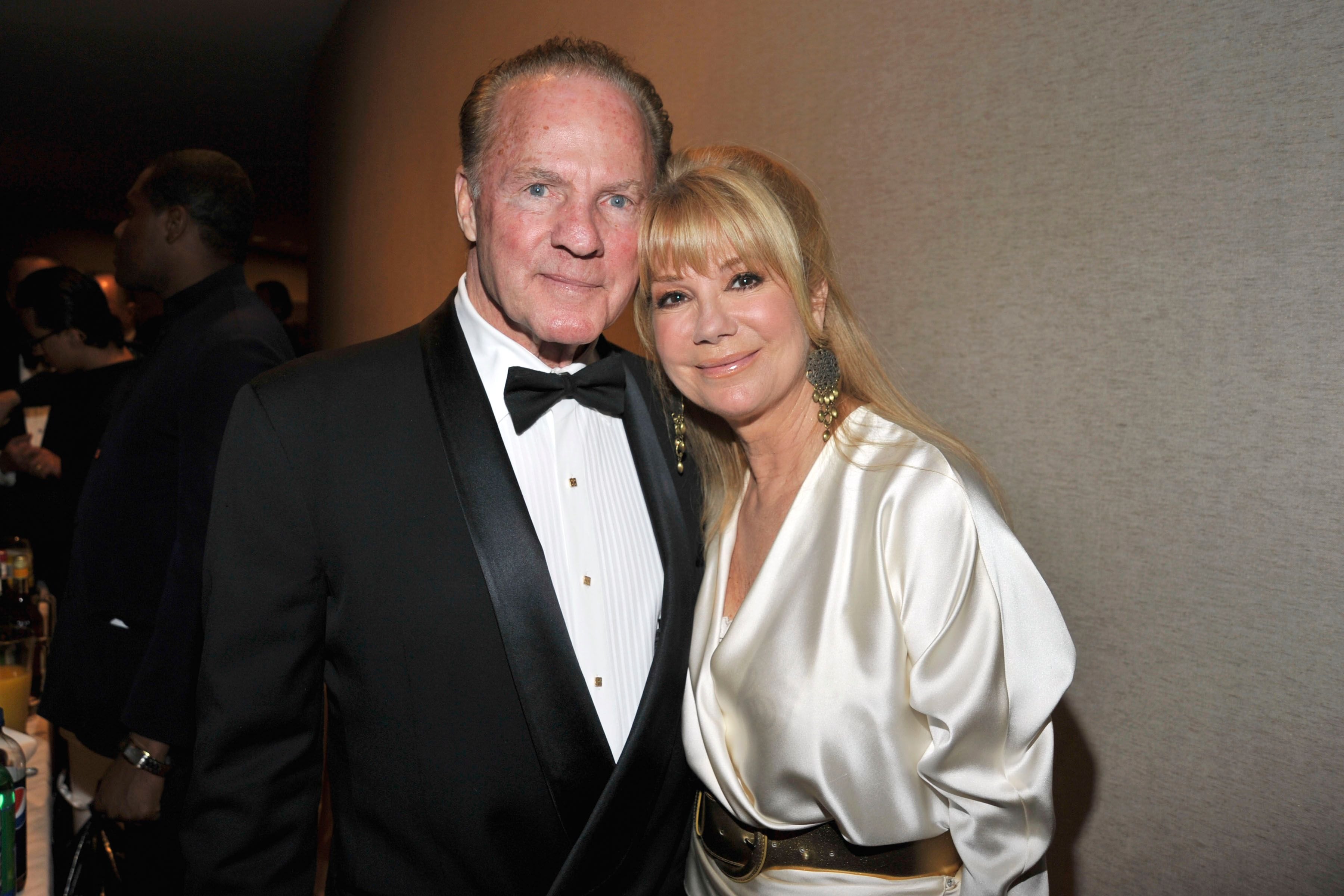 Frank Gifford and Kathie Lee Gifford at Literacy Partners Evening of Readings Gala at David H. Koch Theater on May 10th, 2010   Photo: Getty Images