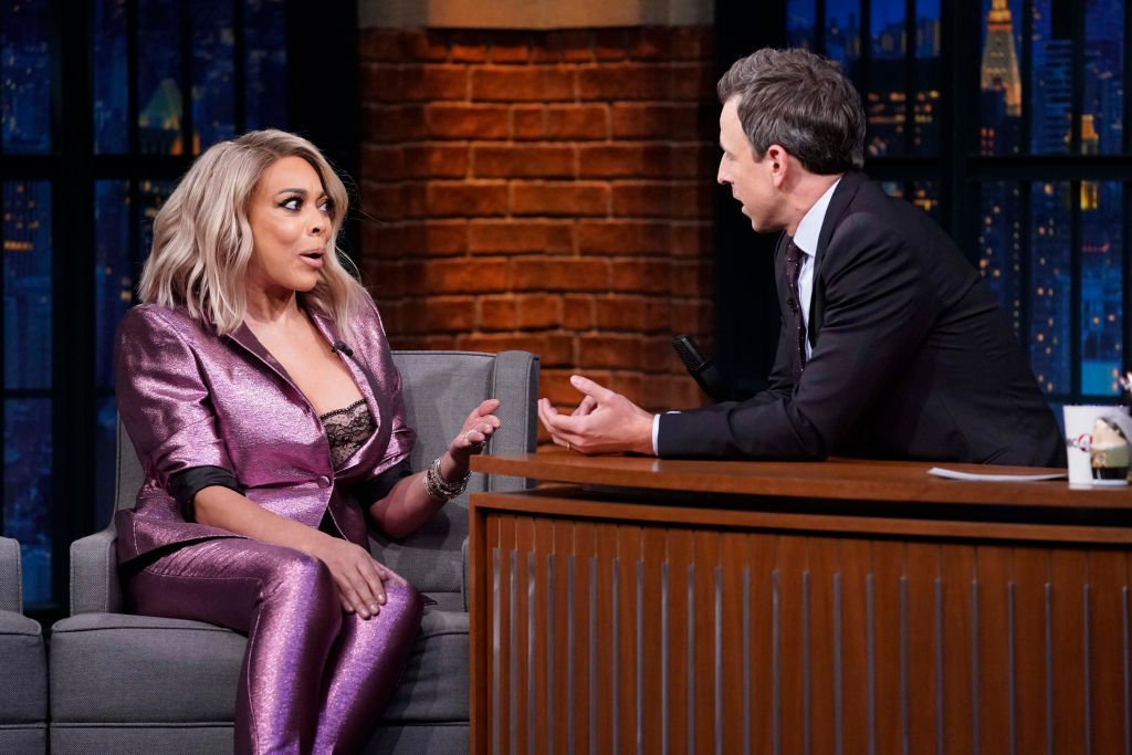 Talk show host, Wendy Williams, during an interview with host Seth Meyers on October 30, 2018. | Photo: Getty Images