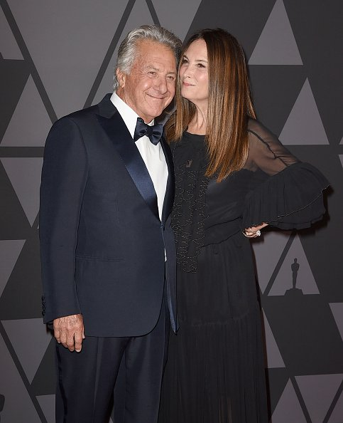 Dustin Hoffman and Lisa Hoffman attend the Academy of Motion Picture Arts and Sciences' 9th Annual Governors Awards at The Ray Dolby Ballroom at Hollywood & Highland Center on November 11, 2017, in Hollywood, California. | Source: Getty Images.
