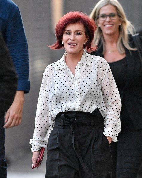 Sharon Osbourne is seen on September 13, 2019 in Los Angeles | Photo: Getty Images