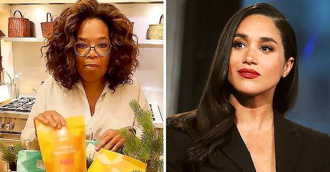See Early Christmas Present Oprah Winfrey Showed off from Her Royal Neighbor Meghan Markle