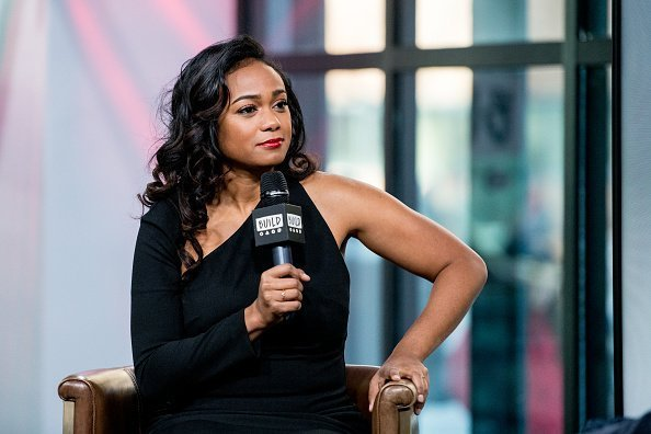 "Tatyana Ali discusses American Heart Association's ""Go Red"" campaign with the Build Series at Build Studio in New York City 