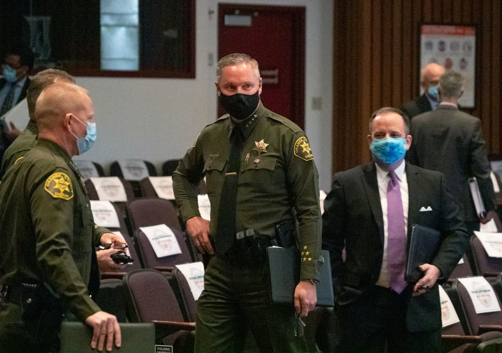 Orange County Board of Supervisors meeting on December 15, 2020   Photo: Getty Images