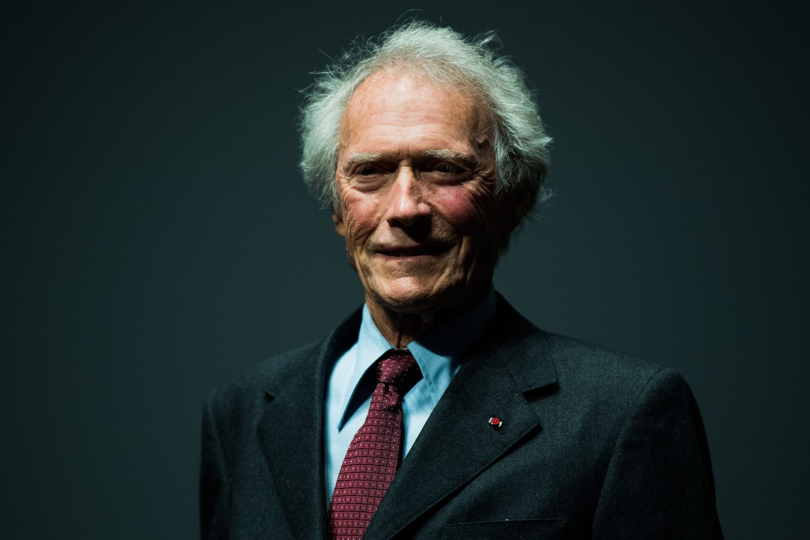 Clint Eastwood on stage during the 'Unforgiven' restored copy presentation during the 70th annual Cannes Film Festival at Salle Debussy on May 20, 2017 | Photo: Getty Images