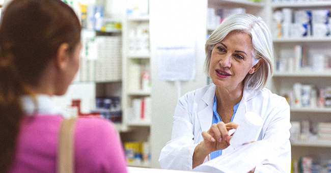 A Nice Respectable Lady Goes into the Pharmacy to Buy Some Cyanide