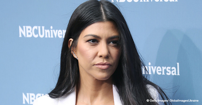Kourtney Kardashian Falling off a Bike Proves Posting While Riding Is a Recipe for Disaster