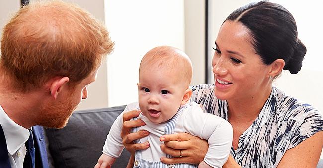 """Le prince Harry confirme qu'Archie est roux : vous pouvez """"le voir avec ses sourcils"""""""