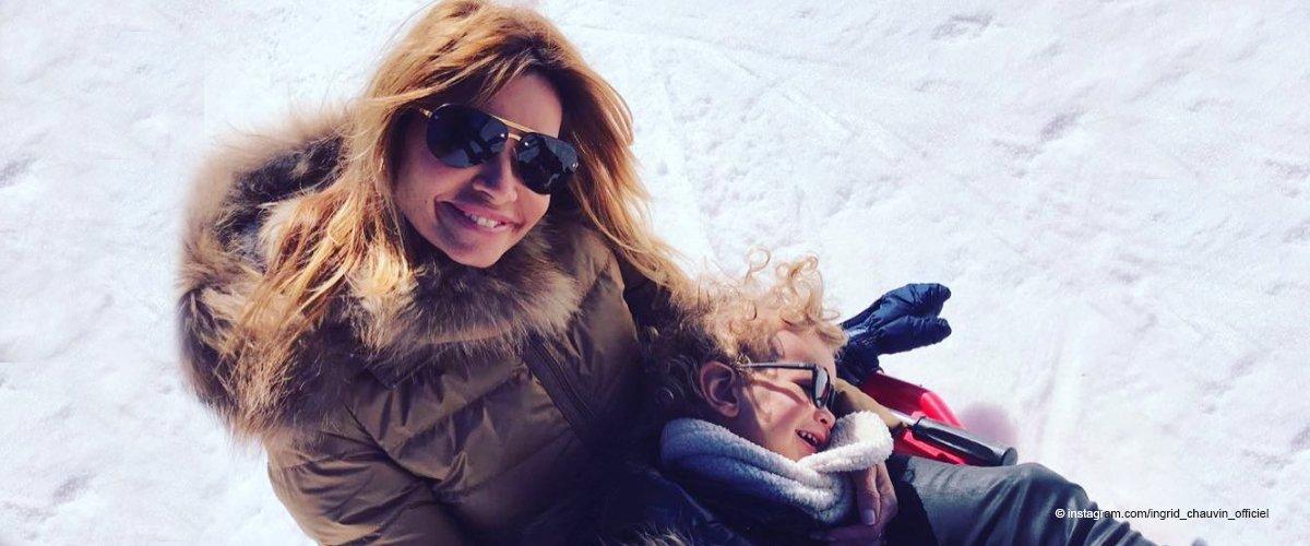 Ingrid Chauvin a ravi les fans avec une vidéo adorable de son petit fils au ski