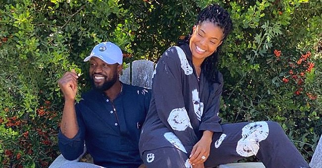 Check Out Dwyane Wade's Muscular Body as He Rides Beautiful Horses with Wife Gabrielle Union