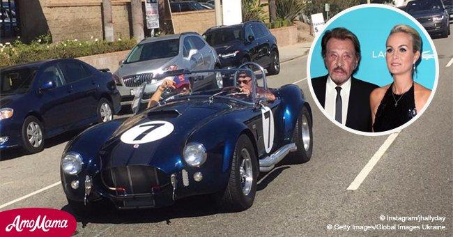 Laeticia Hallyday garde pour elle la voiture préférée de Johnny en raison de souvenirs spéciaux