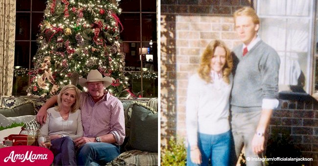 Alan Jackson shares rare throwback photo celebrating 39 years of love on Christmas Eve