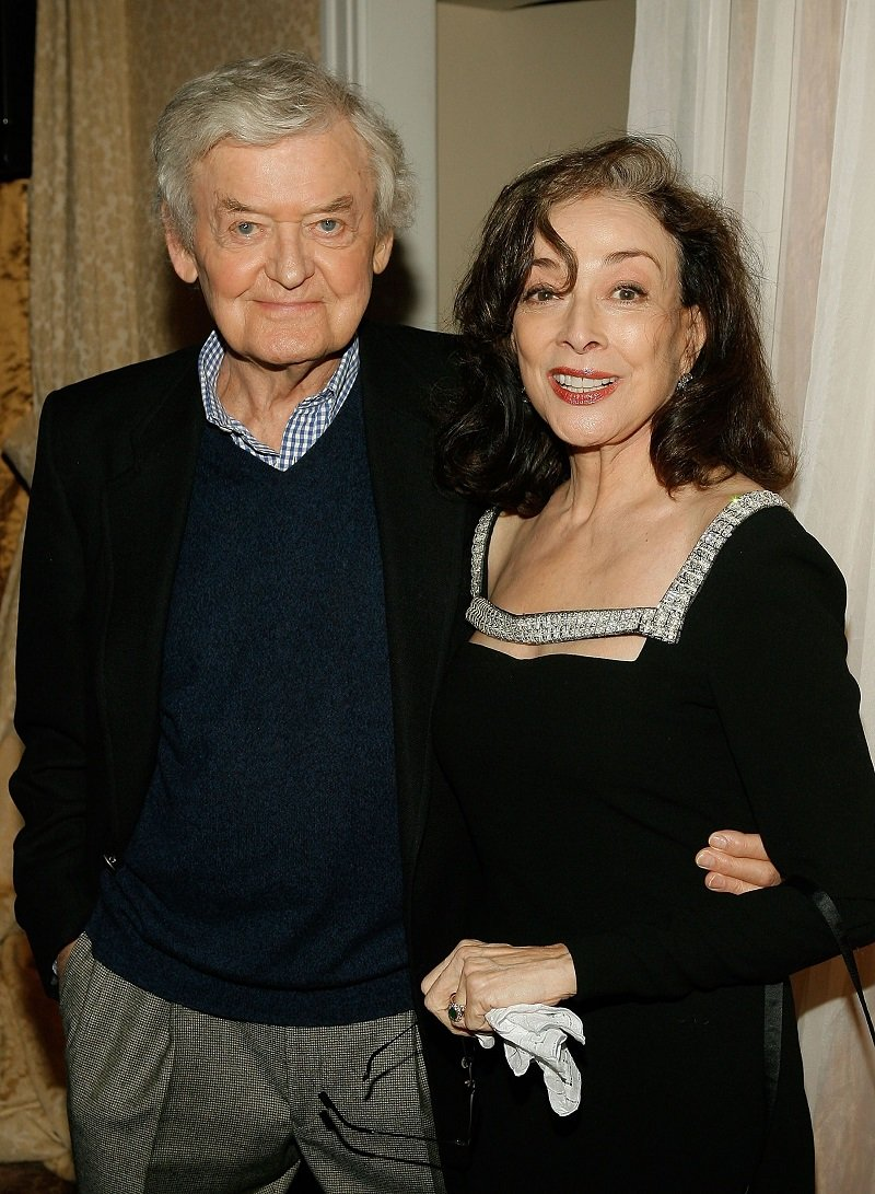 Hal Holbrook and Dixie Carter attending AARP The Magazine's Seventh Annual Movies For Grownups Awards in Los Angeles, California, in February 2008.   Image: Getty Images.