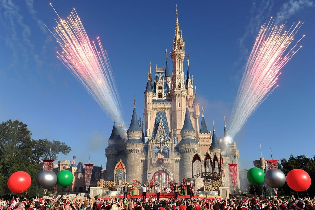 Disney Parks Christmas Day Parade TV special December 6, 2013 at the Magic Kingdom park at Walt Disney World Resort in Lake Buena Vista, Florida. | Getty Images
