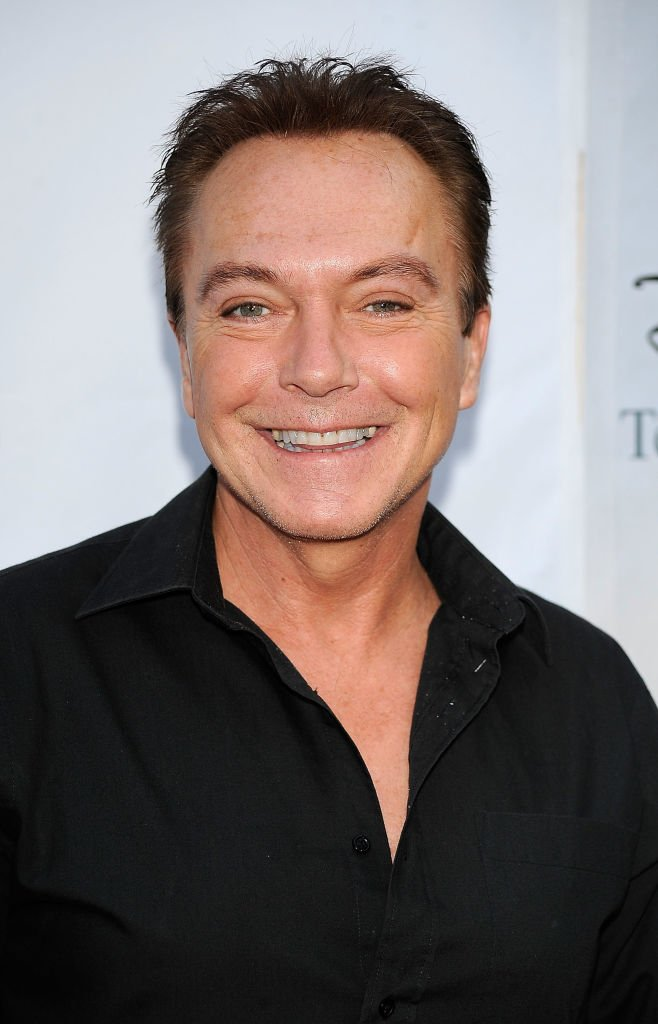 David Cassidy arrives at Disney-ABC Television Group Summer Press Tour Party | Getty Images