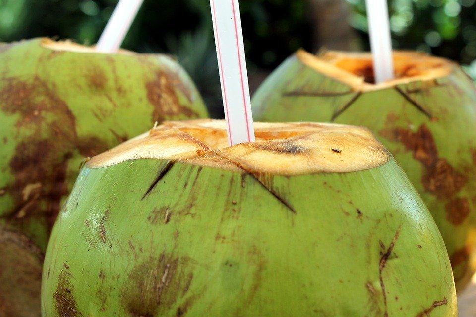 El agua de coco es uno de los mejores remedios naturale contra la presión alta-Imagen tomada de Pixabay
