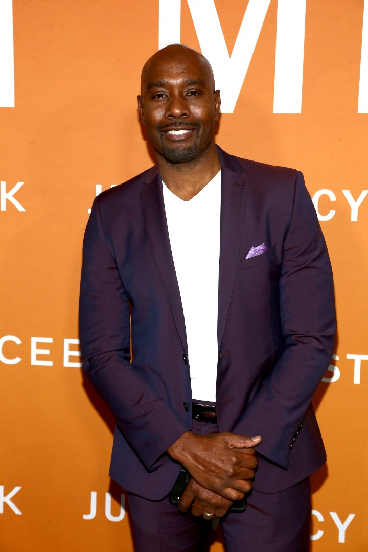 """Morris Chestnut attending a screening of """"Just Mercy"""" in Los Angeles, California, in January 2020 