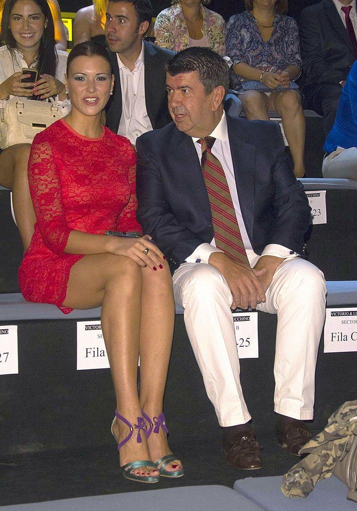 María Jesús Ruiz y José María Gil Silgado.  Fuente: Getty Images