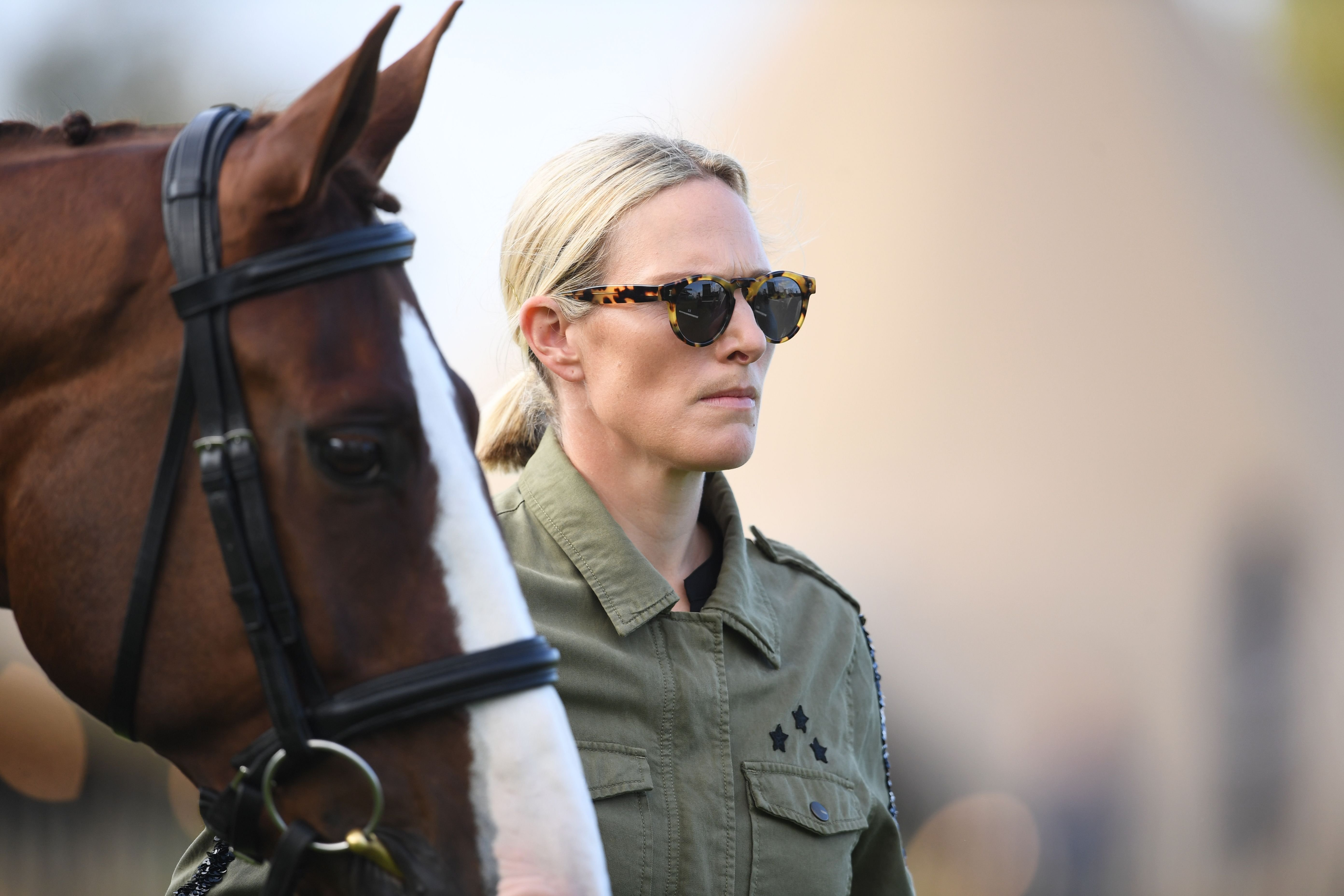 Zara Tindall at the Land Rover Burghley Horse Trials on September 04, 2019 | Photo: Getty Images