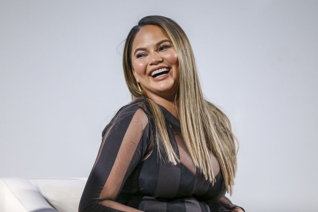 """Chrissy Teigen at the """"Lip Sync Battle"""" FYC event screening and reception on May 1, 2018 in Los Angeles, California 