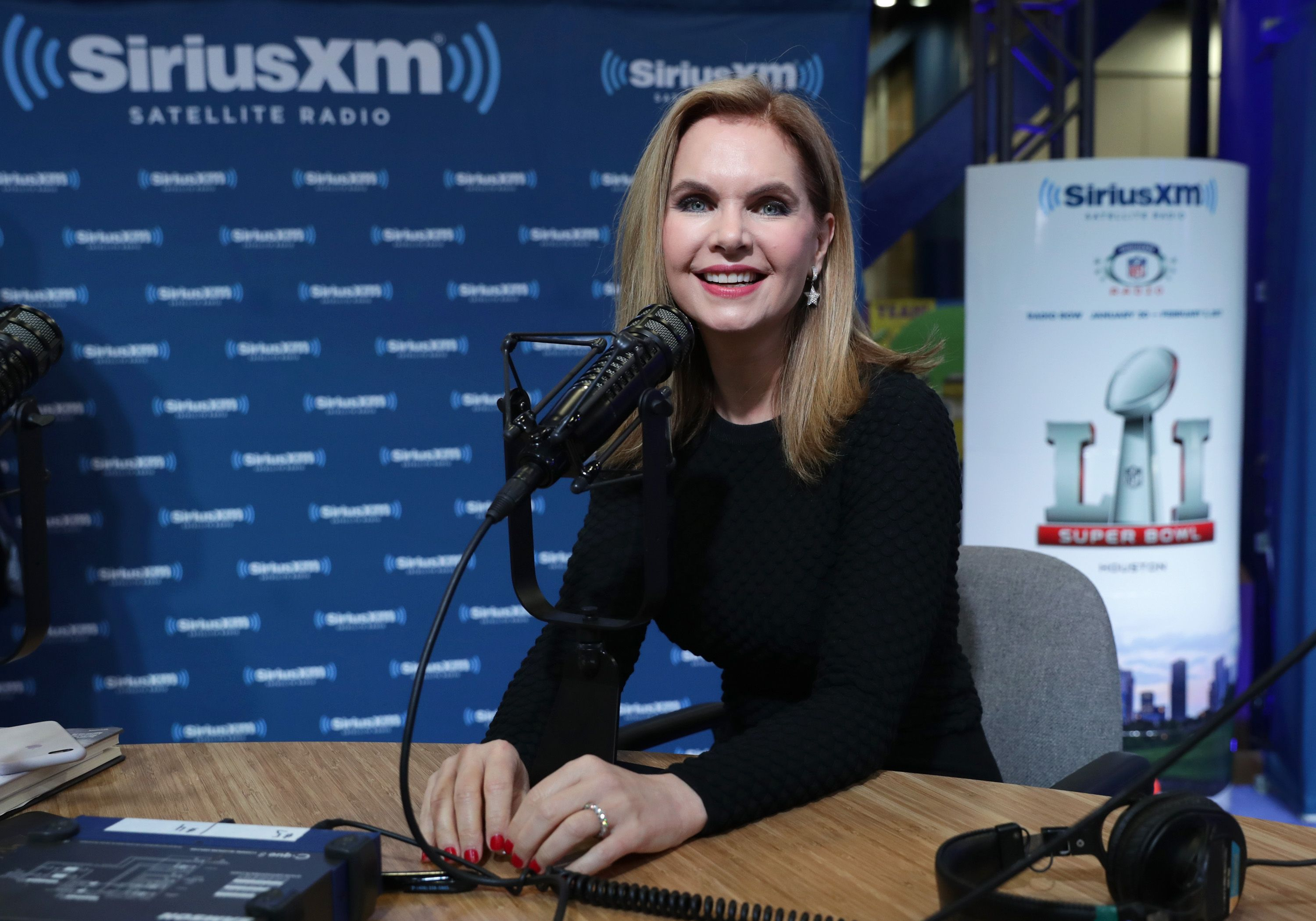 Victoria Osteen at the SiriusXM set in 2017 in Houston, Texas | Source: Getty Images