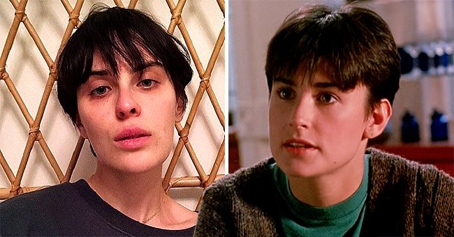 Demi Moore's Daughter Tallulah Willis Channels Her Mom's Iconic Short 'Ghost' Haircut