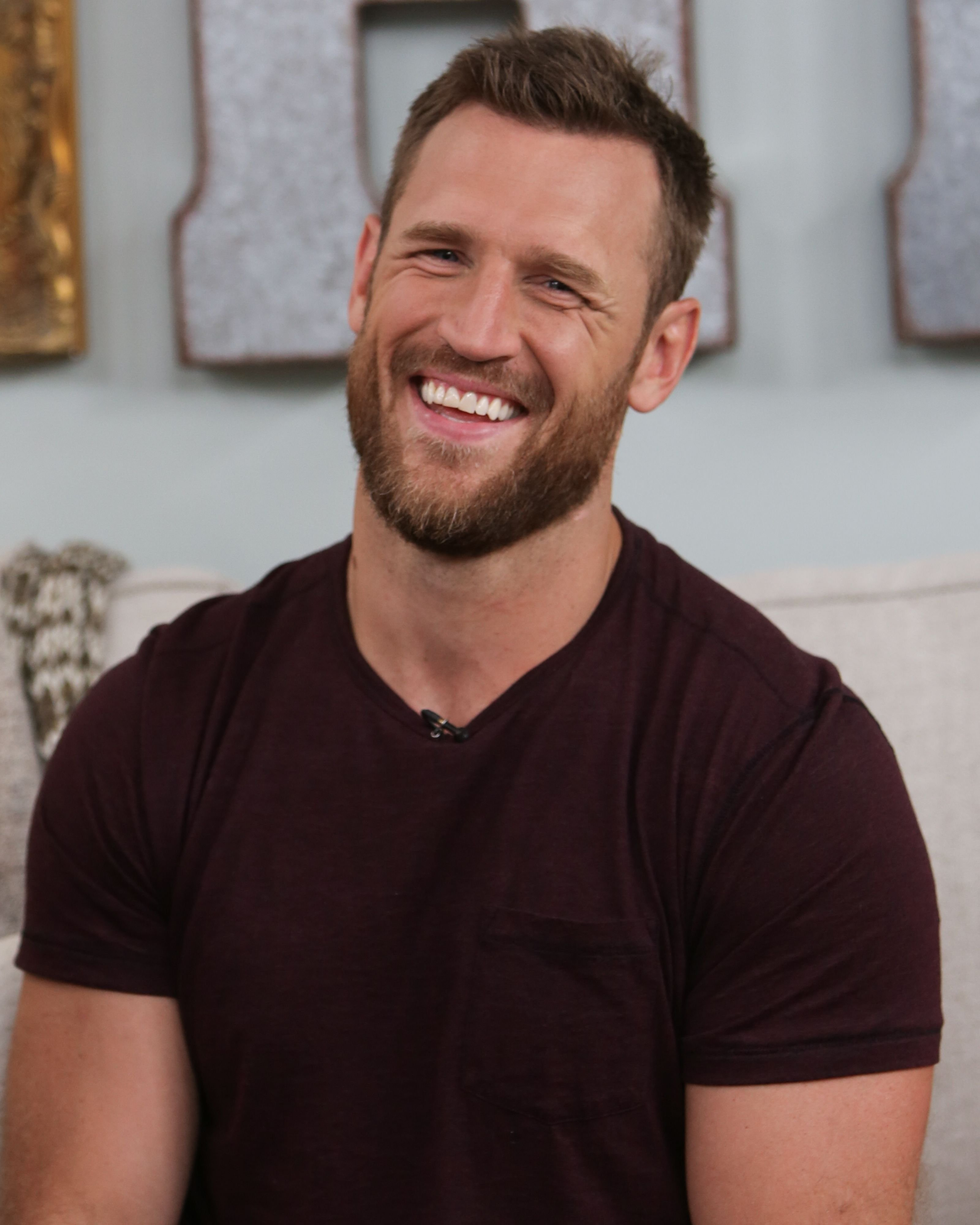 """Brooks Laich visits Hallmark's """"Home & Family"""" at Universal Studios Hollywood on September 05, 2019 in Universal City, California 